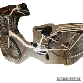 【お譲り先確定】電動アシスト自転車(充電器、バッテリー付いてます)