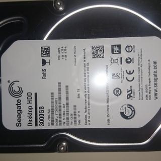 【半額です】新品HDD  SEAGATE ST3000DM001