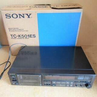 ☆ソニー SONY TC-K501ES カセットデッキ テープレ...