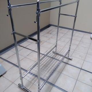 プロ仕様伸縮ダブルハンガー ディノス 幅122センチ~152センチ