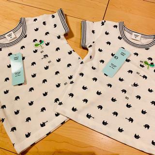 SIMPLE FREE    ゾウさんイラストポロシャツ ( 2セ...