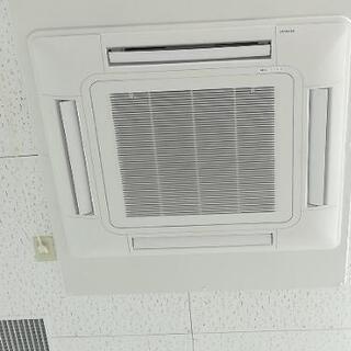 🉐業務用エアコンのフィルター洗浄