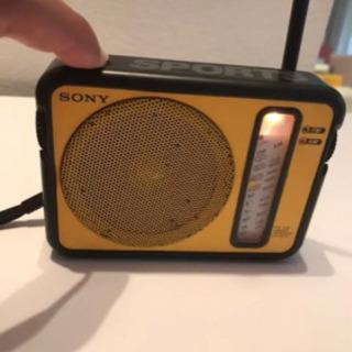 ソニー ICF-S73 アウトドア ラジオ
