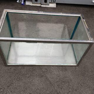 大きめ 水槽 ガラス ステンレス