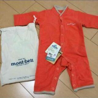 新品montbell☆ロンパース