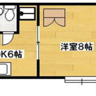 【ライブ小島Ⅱ203号室(1DK)】仲介手数料0円!礼金0円!敷...