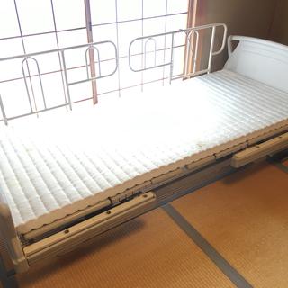 パラマウントベッドの介護ベッド(実用品・現状渡し)差し上げます