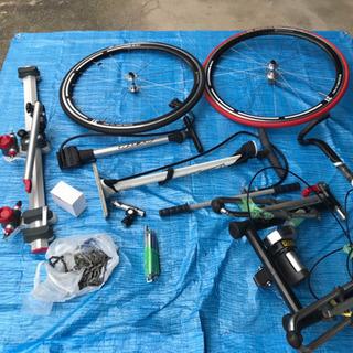 ロードバイクや自転車のパーツ類