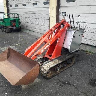 畜産 農業 耕運機 ヤンマー CL150 ローダー 造園