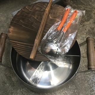 鍋 美品 セット 両手鍋