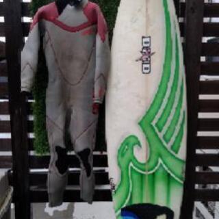 激安 サーフィン 初心者 すぐ波乗れるウエットセット