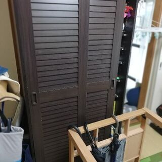 家具 本棚・靴箱2010年製 茶