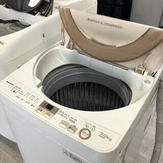 シャープ7.0K洗濯機 ES-GE7A