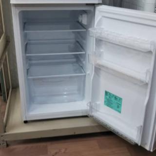 【リサイクルサービス八光 田上店 安心の3か月保証 配達・設置OK】ハイアール 121L 2ドア冷凍冷蔵庫 ホワイト JR-N121A-W − 鹿児島県