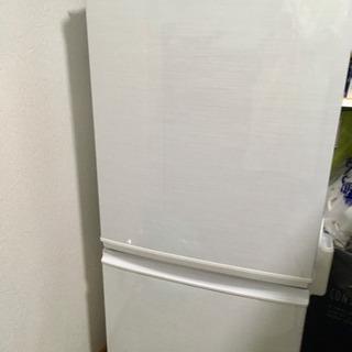SHARP 冷凍冷蔵庫 SJ-14X 137L 2013年製