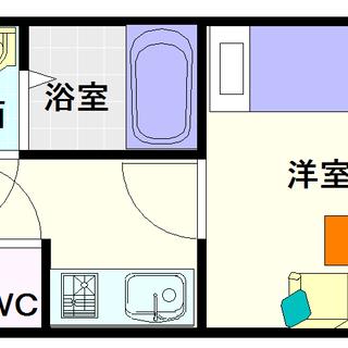 【グランパシフィック恵美須西】2号タイプ!1Kタイプ!ネット?当然無料!