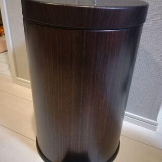 ゴミ箱 ペダル式  木目 12L ニトリ