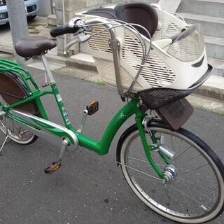 (取引決定済です)子供乗せ用 3人乗り対応自転車ブリヂストン ア...