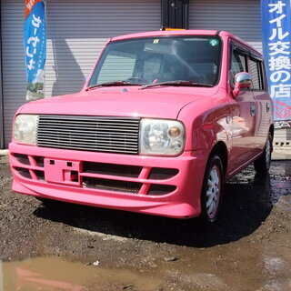 スズキ アルトラパン 4WD AT 2年車検付 9.2万Km 平...