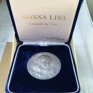 純銀 メダル モナリザ MONNA LISA ダヴィンチ