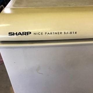 シャープノンフロン冷蔵庫135リットル