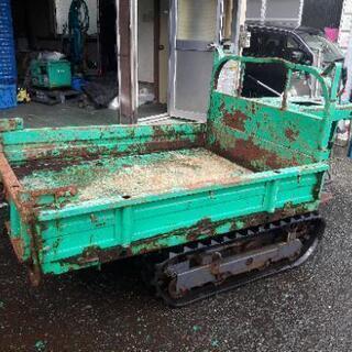 畜産 農業 畑 筑水 運搬車 油圧ダンプ 農機具 耕運機