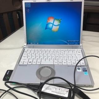 レッツノートCF-Y7DCCAAS Windows7美品