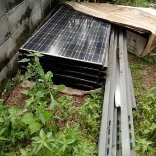 SANYO 太陽光パネル 10枚 さしあげます