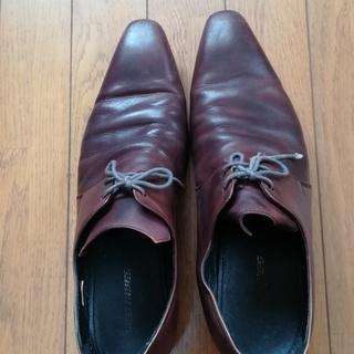 【200円】革靴(LES MUESらしき表示あり)