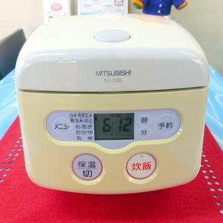 ミツビシ マイコン炊飯器3.5合 NJ-G6S 中古 2007年製