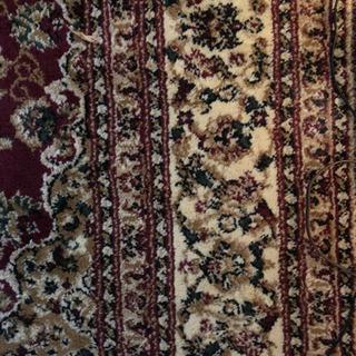 ペルシャ絨毯 赤