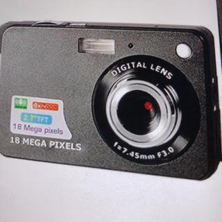 デジタルカメラ 新品未使用 ブラック