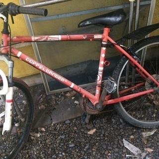 ドッペルギャンガー 自転車 ジャンク