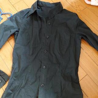 ALBAROSA 黒シャツ 長袖