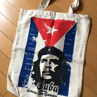 【未使用】チェ・ゲバラの大きめ布バッグとキーホルダー