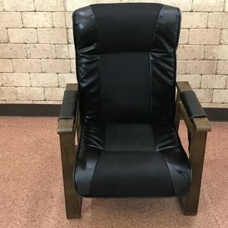 S82 椅子 一人用 リクライニング リモコン収納つき 横62c...