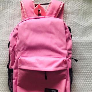 新品 未使用品 リュック バッグ ,ピンクのリュックサック。