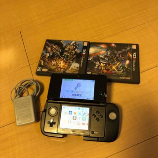 Nintendo ニンテンドー3DS 本体 モンハン 3G 4G XX
