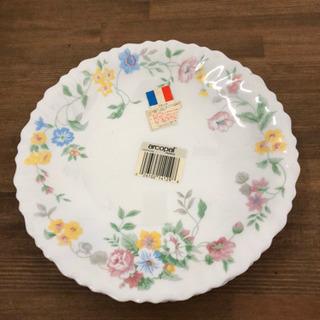 レトロなお皿 フランス  アルコパル  強化ガラス製プレート 皿...