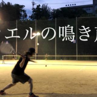 ソフトテニス  !城山公園テニスコートにて