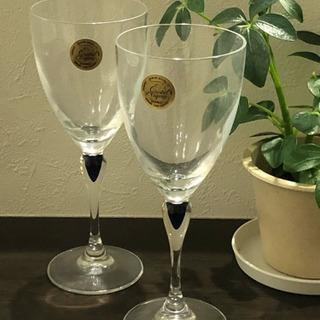 ワイングラス フランス製  純正クリスタル