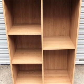 ☆木製5段棚 カラーボックス 収納ラック 書類棚・整理棚に◆使い道色々①