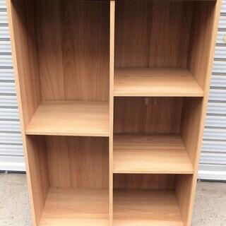 ☆木製5段棚 カラーボックス 収納ラック 書類棚・整理棚に◆使い道色々②