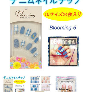 ネイルチップ/ウィング・ビート blooming bl-006