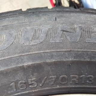 スタッドレスタイヤ+アルミホイール4本セット