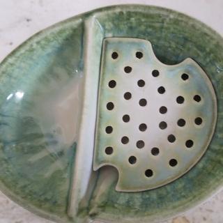 水切り皿(冷奴、刺身に)・使用品