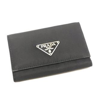 美品!PRADA ナイロン 6連キーケース ブラック