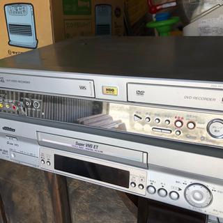 パイオニア DVD VHSデッキ ビクターVHSデッキ