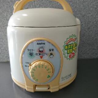 SANYO 炊飯器 ECJ-AT3  3合炊中古品になります。