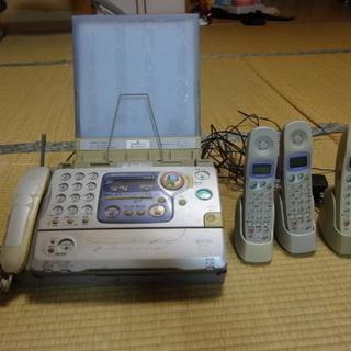 電話機 FAX親機(UX-F1CL)+コードレス3台(UX-kF...